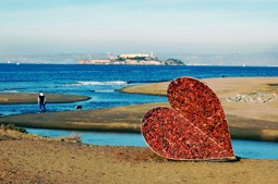 enviromental grants - heart at beach